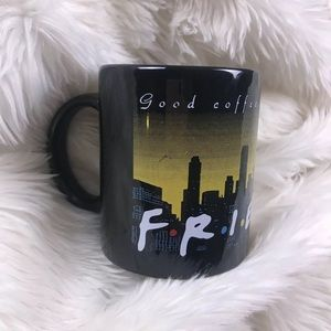 FRIENDS vintage 1995 official logo mug coffee cup